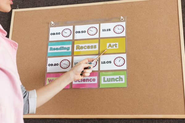 Display your Classroom Daily Schedule