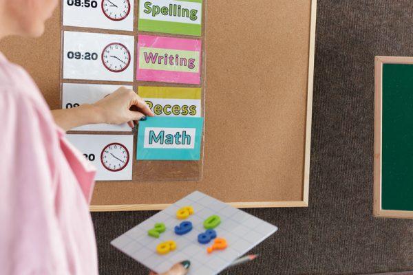 Create a Classroom Schedule with ProSimpli Index Card Holders
