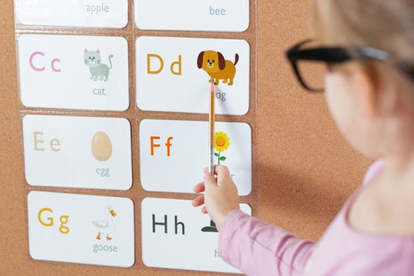 Help Children Learn Their Letters with ProSimpli 4x6 Index Card Holders
