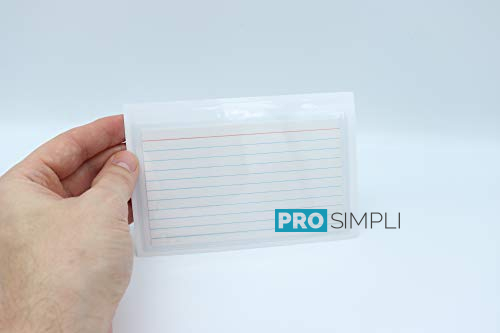 ProSimpli 3X5 Adhesive Index Card Holder