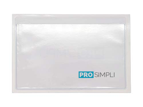 3x5 Self-Adhesive Index Card Sleeves from ProSimpli
