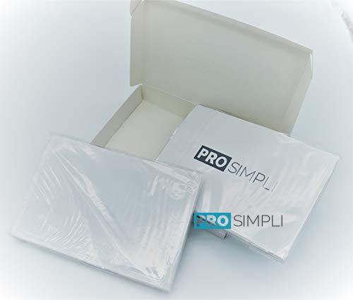 ProSimpli Adhesive Pocket Sleeves 50 Per Box